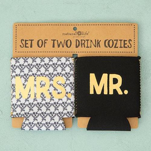 Mr & Mrs Set of 2 Cozies