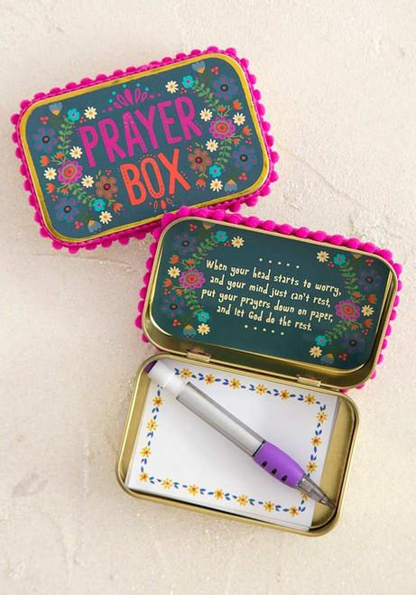 Prayer Box Slate Blue