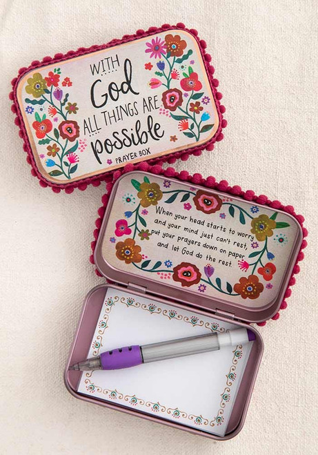 With God Possible Prayer Box