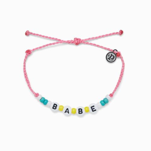 Babe Bead Pink Bracelet