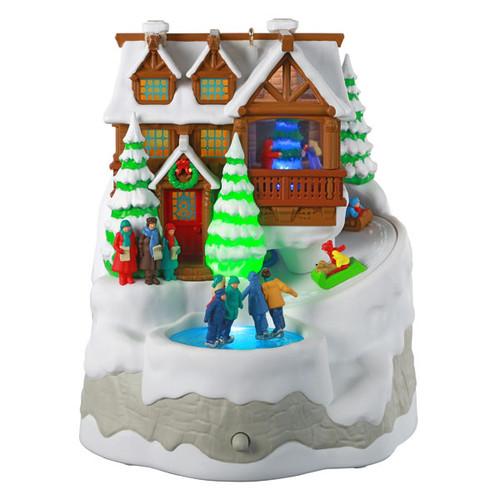 Christmas Cabin Ornament