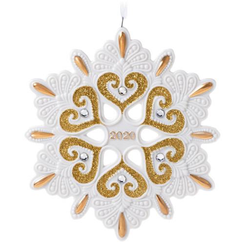 2020 Snowflake Ornament
