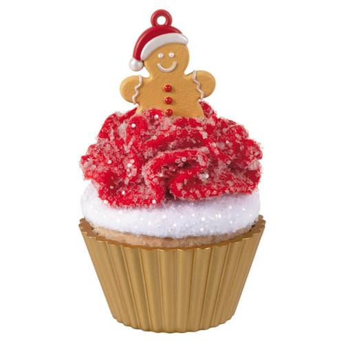 Gingerbread Cutie Cupcake 11th Ornament