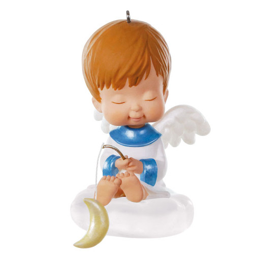 Moonflower Mary's Angel 33rd Ornament