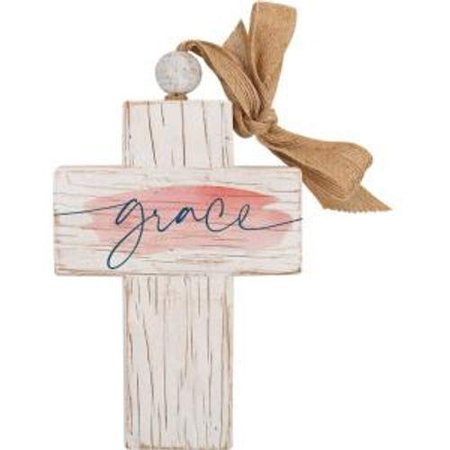 Grace Wooden Cross