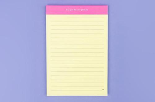 Be So Good Notepad