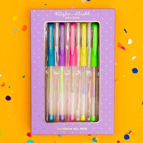Rainbow Gel Pen Set