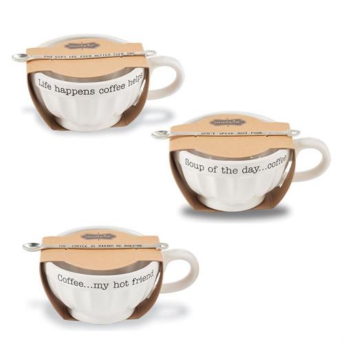 Soup of The Day Latte Mug Set