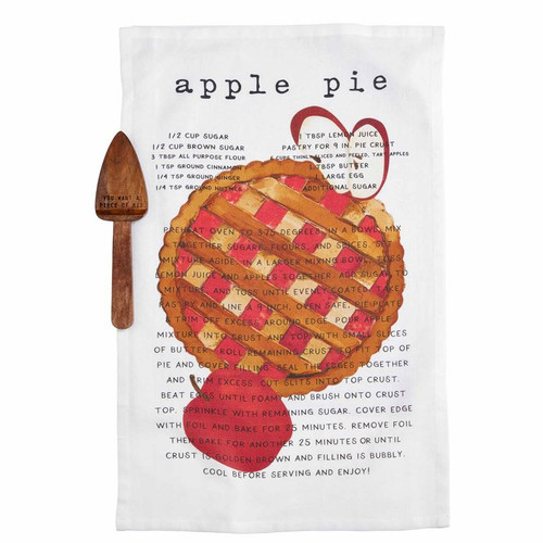 Apple Pie Server and Towel Set