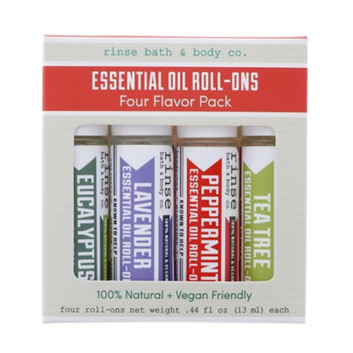 Roll On Essential Oil 4 Pack