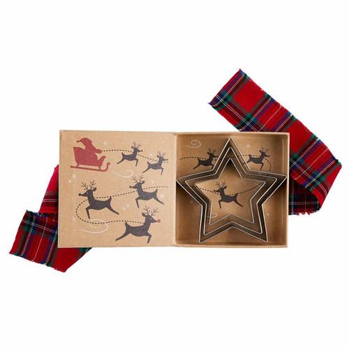 Star Christmas Cookie Cutter Set