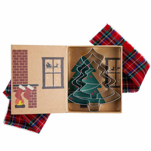 Tree Christmas Cookie Cutter Set