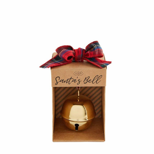 Gold Santa Bell