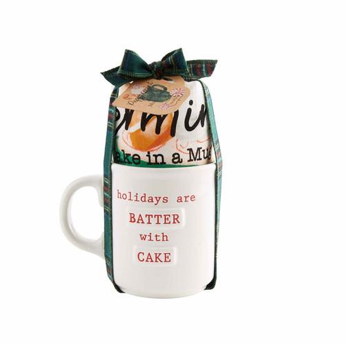 Batter Holiday Mug Set - Peppermint