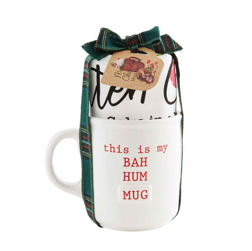 Bah Hum Mug Holiday Mug Set