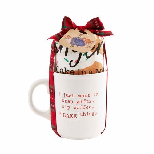 Bake Things Holiday Mug Set - Gingerbread
