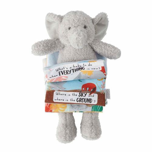 Boy Elephant Reading Pal