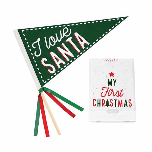 I love Santa Christmas Crawler
