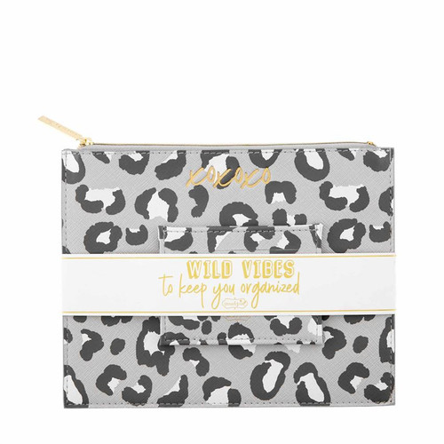 Grey Leopard Gift Set
