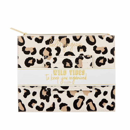 Brown Leopard Gift Set