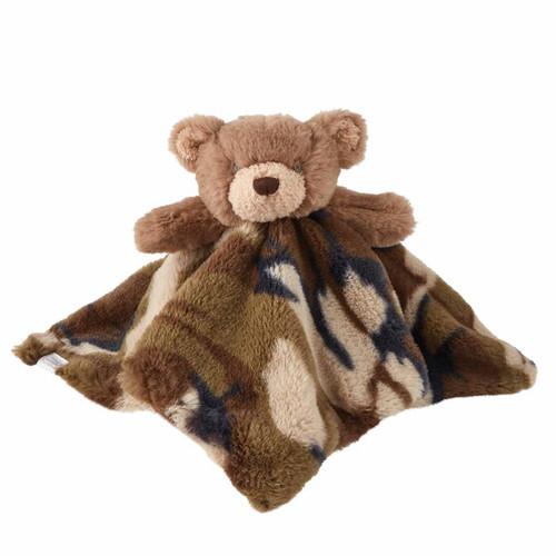 Camo Bear Plush Lovie