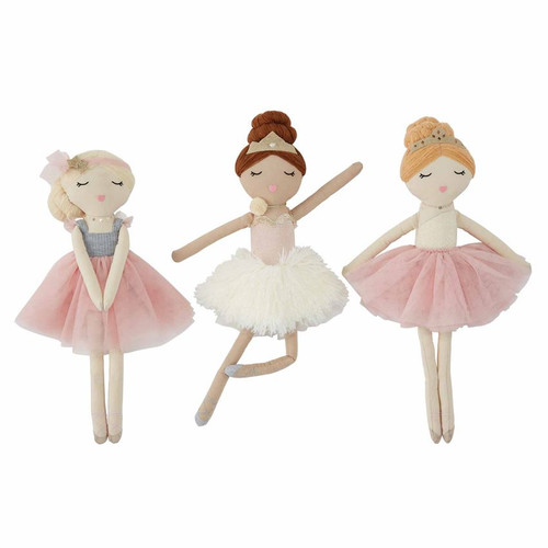 Brunette Ballerina Doll
