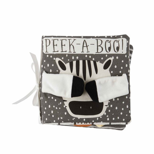 Peekaboo Safari Plush Book