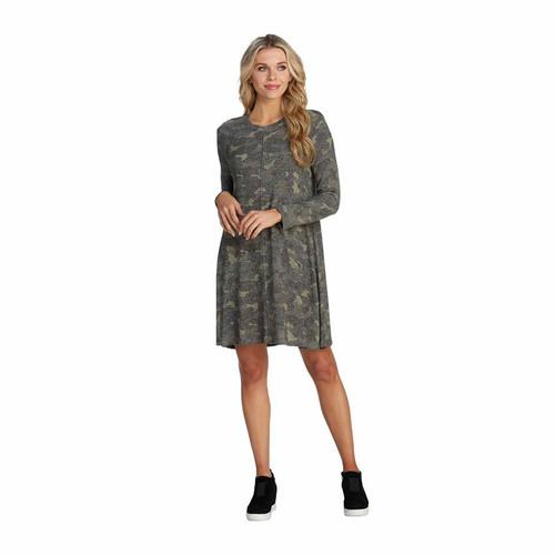 Medium Camo Jillie Swing Dress