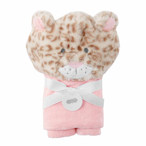 Leopard Baby Hooded Towel