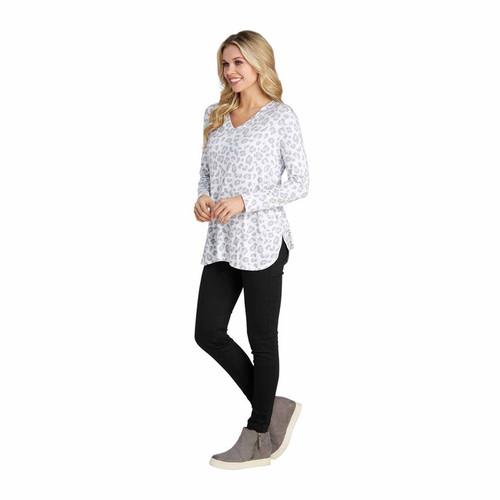 Medium Snow Leopard Erin T-Shirt