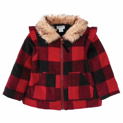 Buffalo Check Coat 4-5T