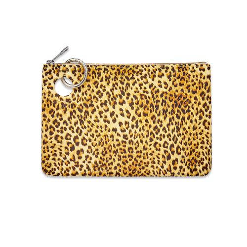 Cheetah Silicone Pouch