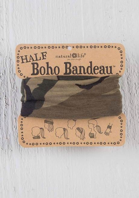 Camo Half Boho Bandeau