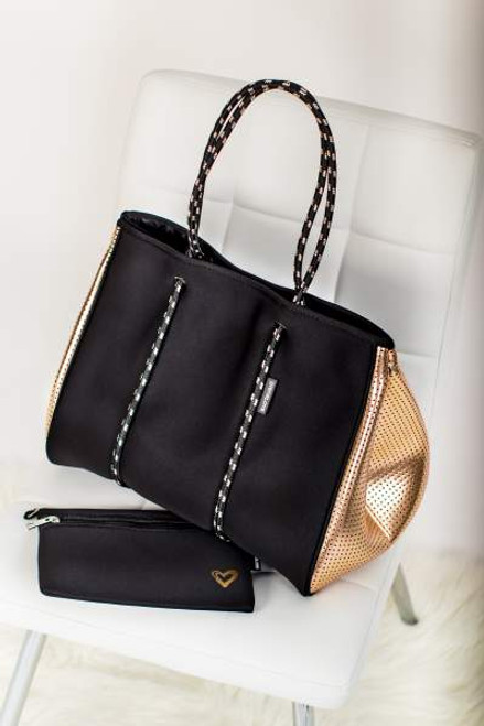 Golden Nights Large Tote