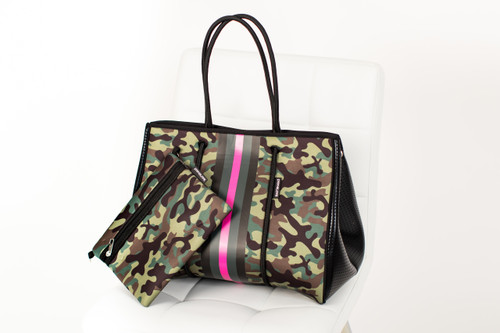 Pink Army Large Tote