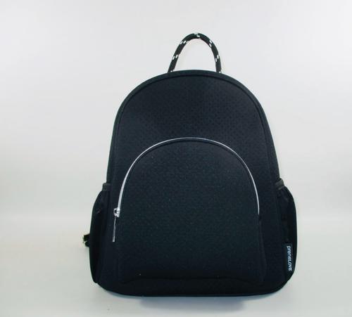 Langley Black Backpack