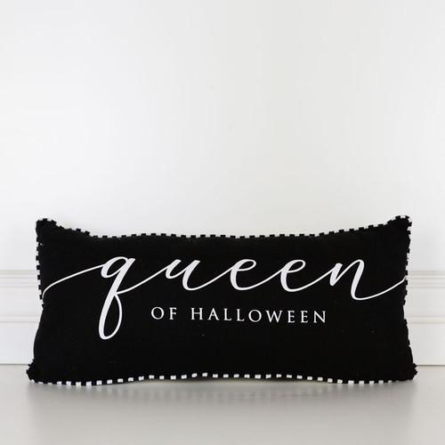 Queen of Halloween Pillow