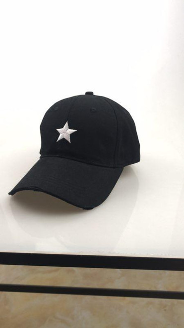 Black Hat with Silver Star