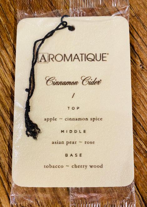 Cinnamon Cider Aroma Card