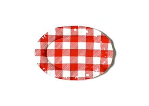 Buffalo Check Oval Platter