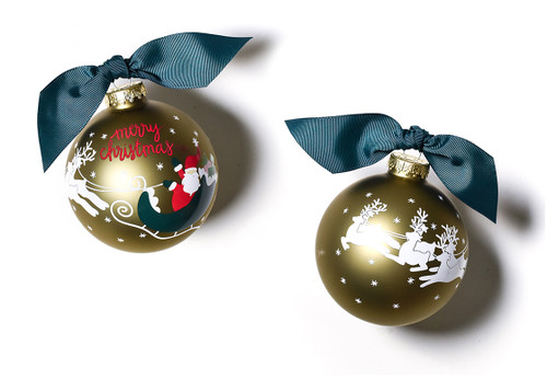 Merry Christmas To All Santa Ornament