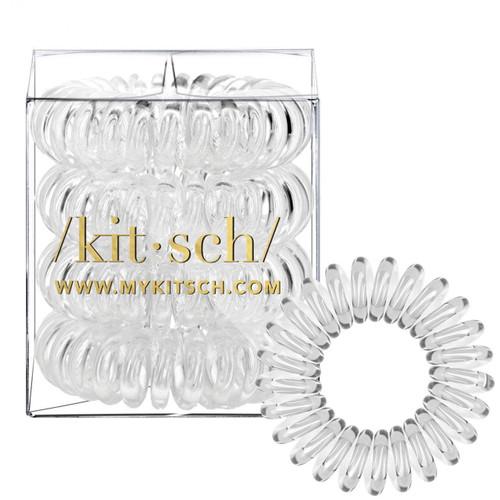 Transparent Hair Coils Pack 4
