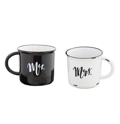 Set of 2 Mugs Camp Mr/Mrs