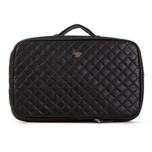 Black Quilted Amour Travel Case