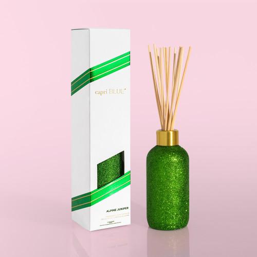 Alpine Juniper Glam Green Glitter 8 oz Diffuser