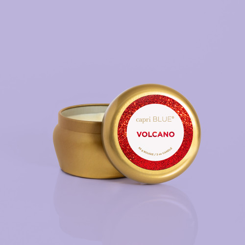 Glam Mini Tin Volcano Candle
