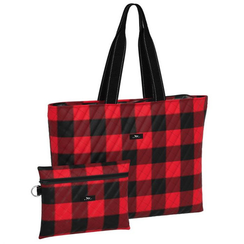 Plus 1 Flannel No 5 Travel Bag