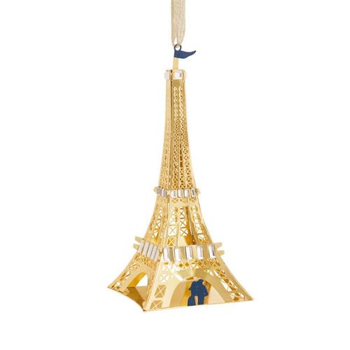 Ornament Metal Signature Eiffel Tower