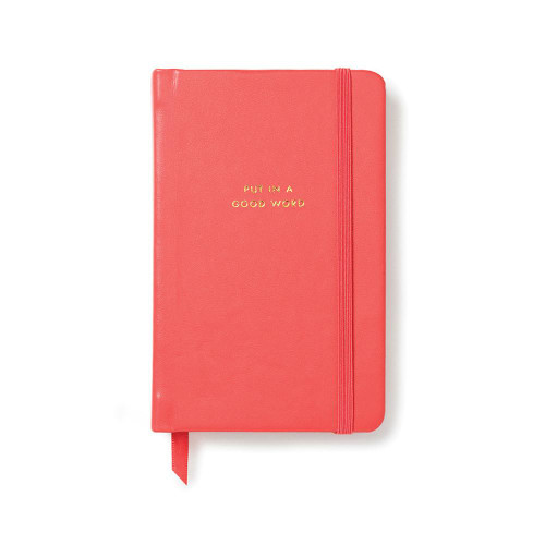 Kate Spade Medium Notebook Put in a Good Word