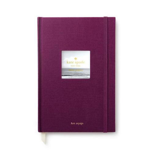Kate Spade Plum Travel Journal